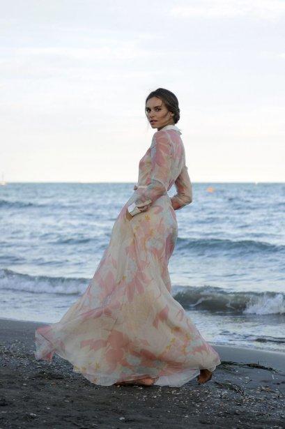 L'actrice et mannequin polonaise Kasia Smutniak | 30 août 2012