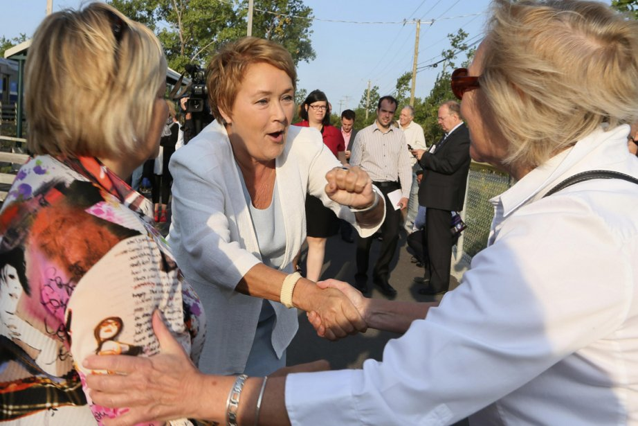 Pauline Marois... (Photo Reuters)