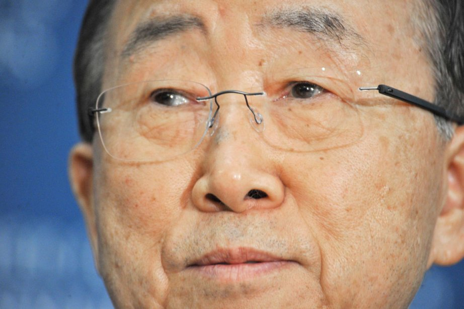 Le secrétaire général des Nations unies Ban Ki-moon.... (PHOTO KAREN BLEIER, ARCHIVES AFP)