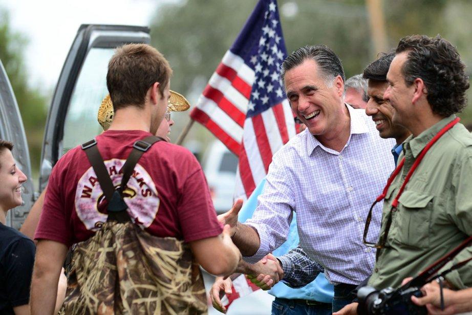 Mitt Romney était en Louisiane hier.... (Photo : Frederic J. Brown, AFP)