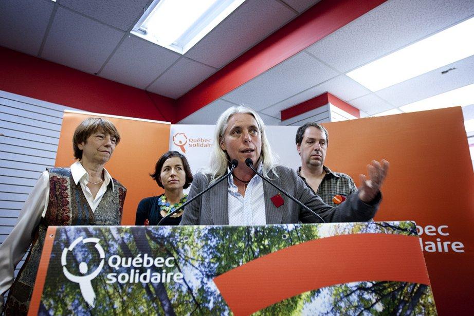 «On est nez à nez avec le Parti... (Photo: Marco Campanozzi, La Presse)