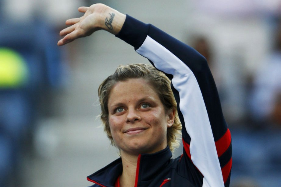 Kim Clijsters, 29 ans, a fait ses adieux... (PHOTO REUTERS)