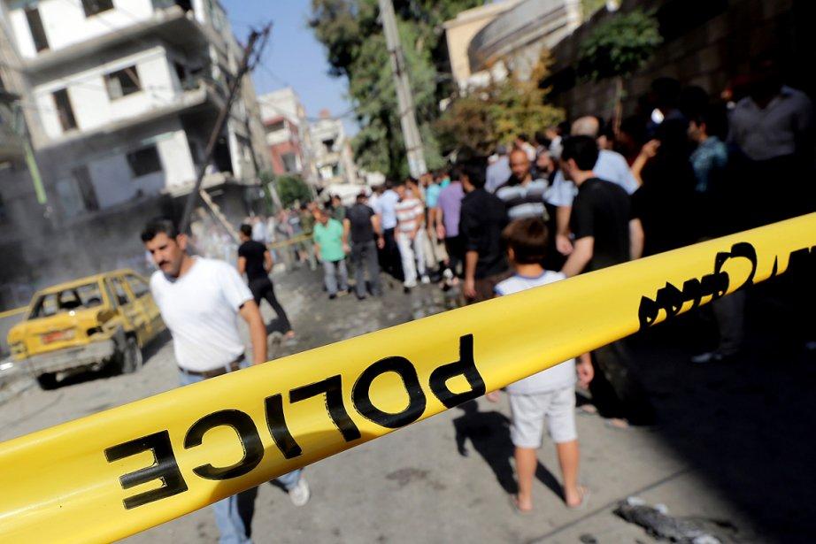 Sur cette photo du 28 août dernier, une... (Photo: JOSEPH EID, AFP)