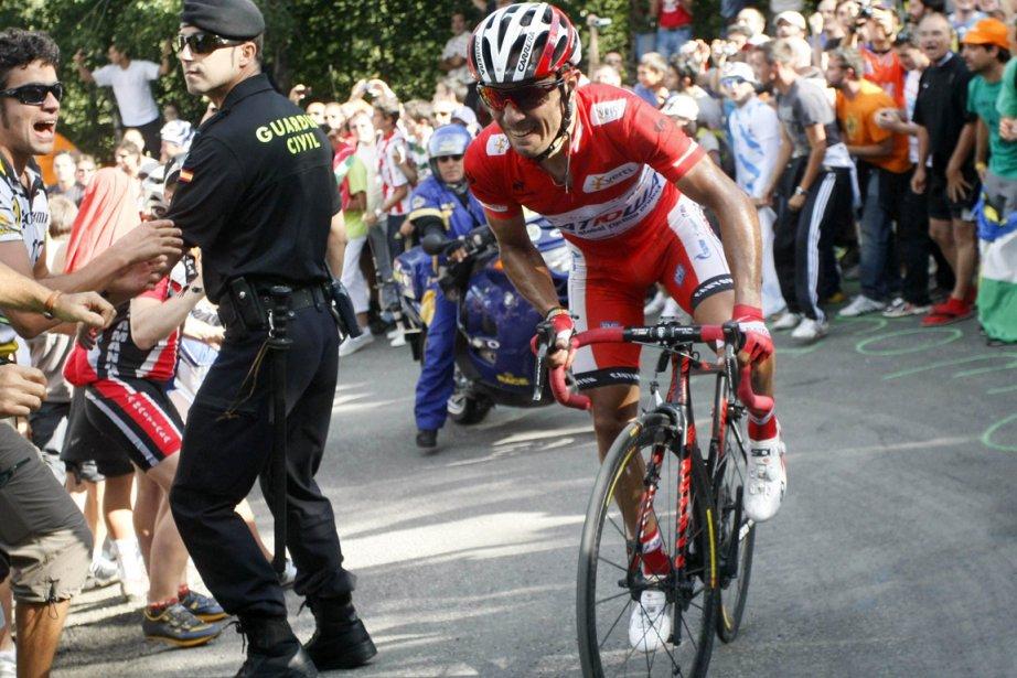 Joaquim Rodriguez reste en tête du classement général.... (Photo : Joseba Etxaburu, Reuters)