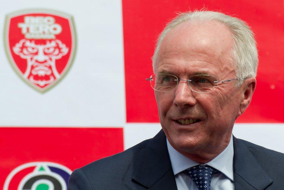 Sven-Goran Eriksson sera responsable de superviser les séances... (Photo : Nicolas Asfouri, AFP)