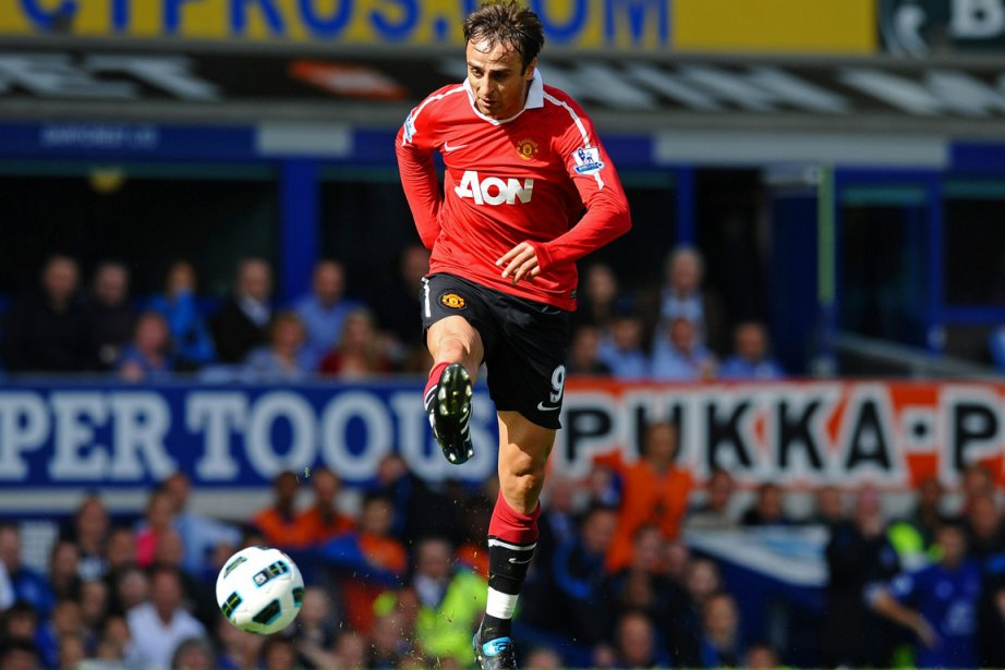 Dimitar Berbatov a quitté Manchester United où il... (Photo : Paul Ellis, AFP)