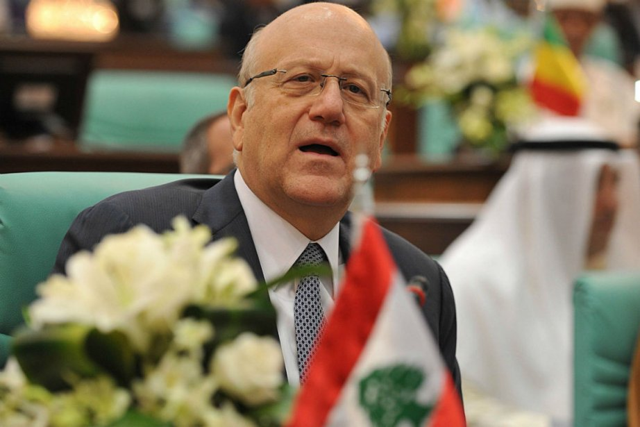 Le premier ministre libanais Najib Mikati... (Photo Fayez Nureldine, Agence France-Presse)