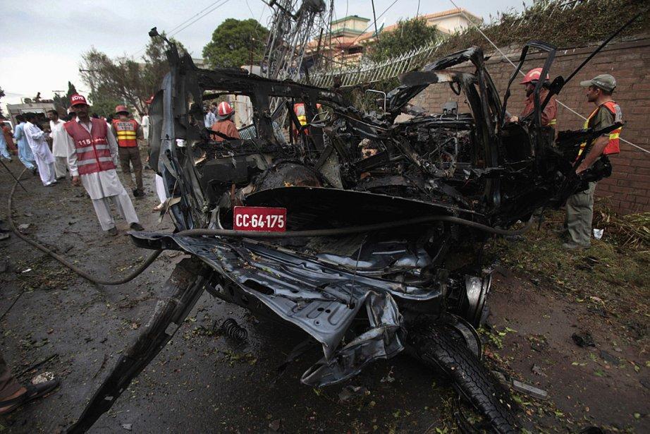 Près d'une vingtaine de personnes ont été blessées... (Photo: AP)