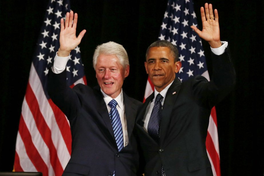 Bill Clinton et Barack Obama... (Photo Larry Downing, Reuters)
