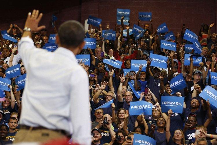 Photo de Barack Obama qui a livré un... (Photo: Reuters)