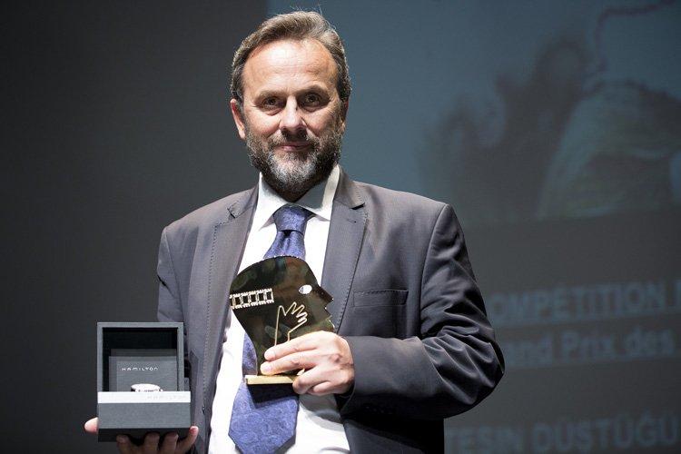 Le réalisateur turc Ismail Gunes a dédié son... (Photo: Olivier Pontbriand, La Presse)