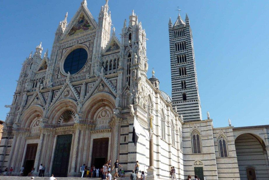 La cathédrale de Sienne....