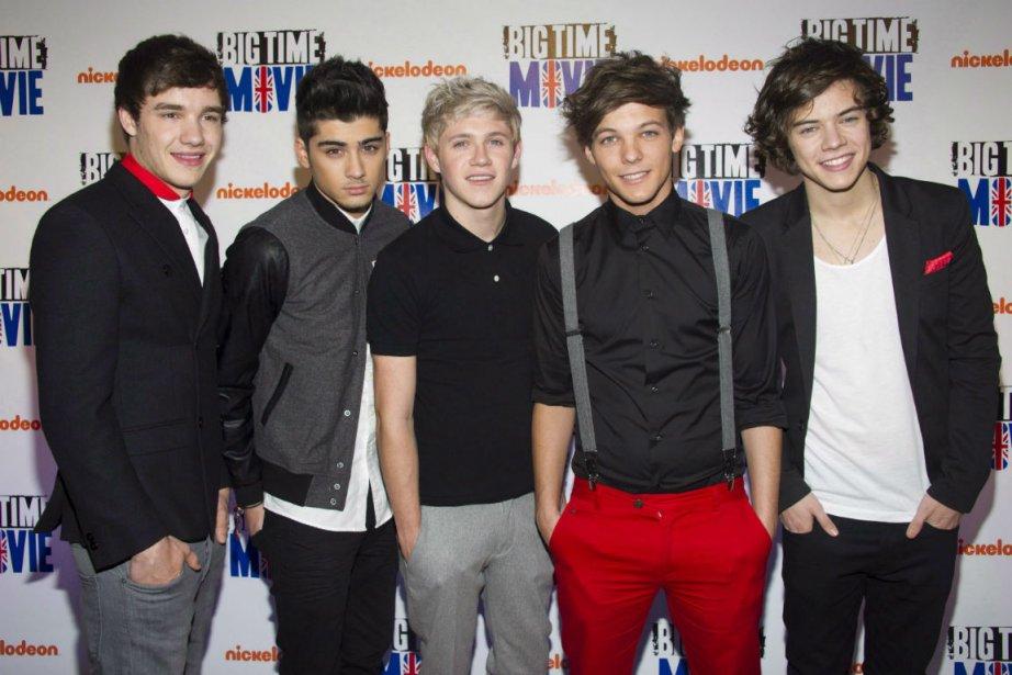 Le groupe britannique One Direction connaît depuis sa... (PHOTO AP)
