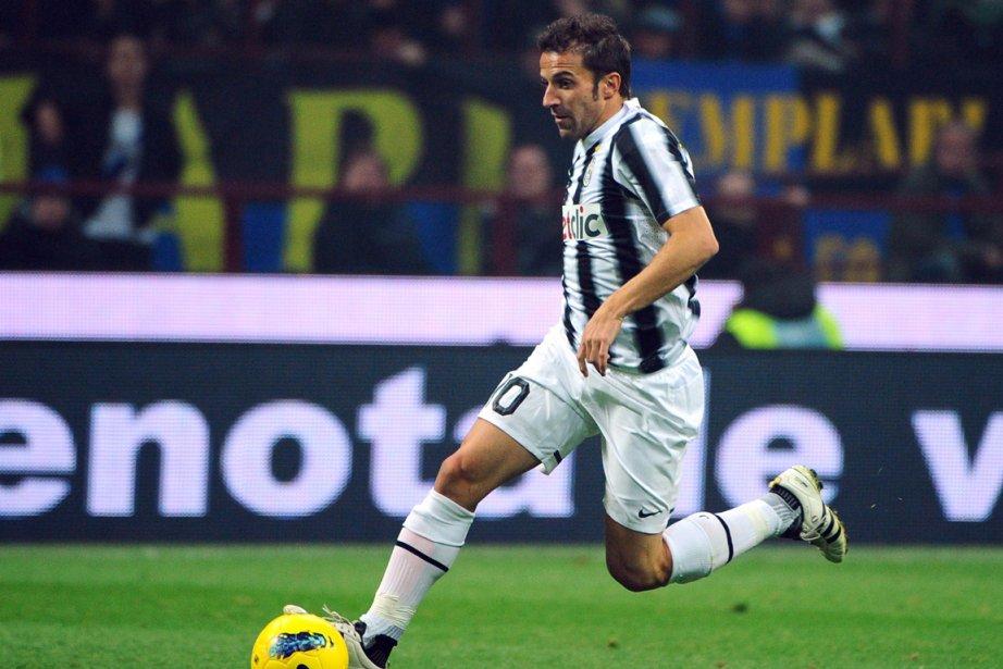 Alessandro Del Piero... (Photo: AFP)