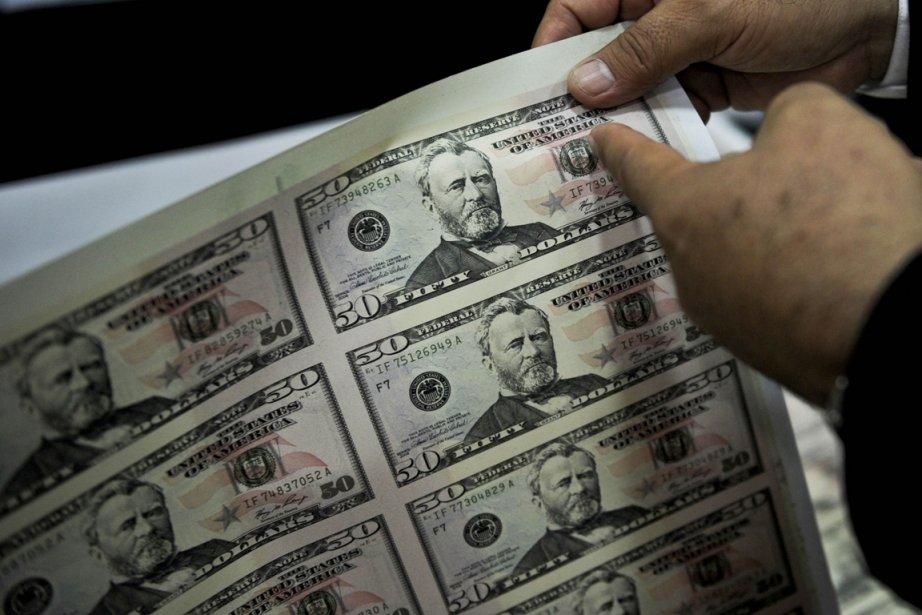 Pris sur le fait alors qu'il tentait de régler un achat avec de... (Photo: AFP)