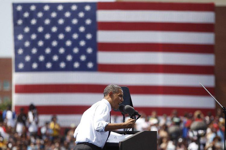 Barack Obama a livré aujourd'hui un discours à... (Photo: Reuters)