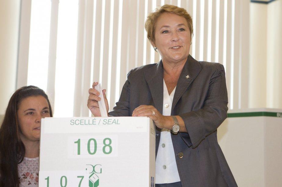 Pauline Marois a démontré à tout le Québec... (La Presse Canadienne)