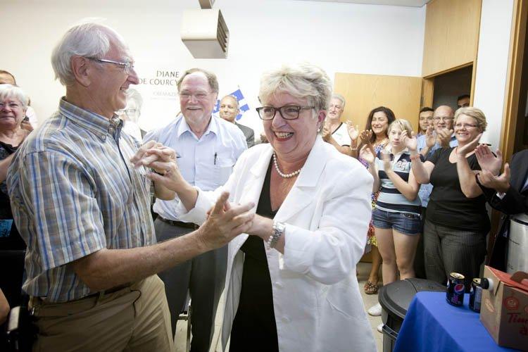 Diane DeCourcy, présidente de la Commission scolaire de... (Photo: Marie-Hélène Tremblay, Collaboration spéciale)