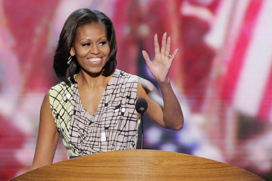 La rubrique du site concernant Michelle Obama, est... (PHOTO J. SCOTT APPLEWHITE, AP)