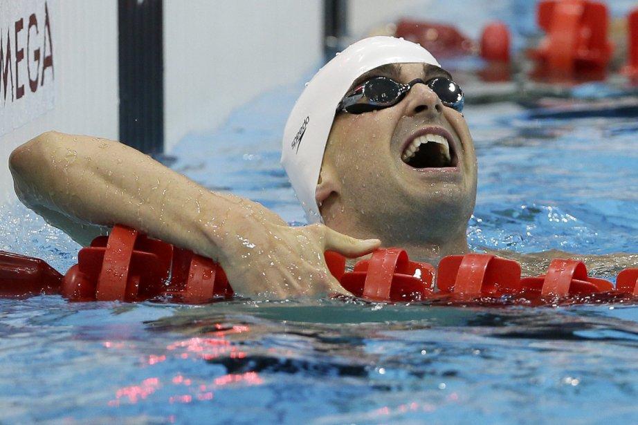 Benoît Huot a remporté trois médailles à Londres.... (Photo: AP)