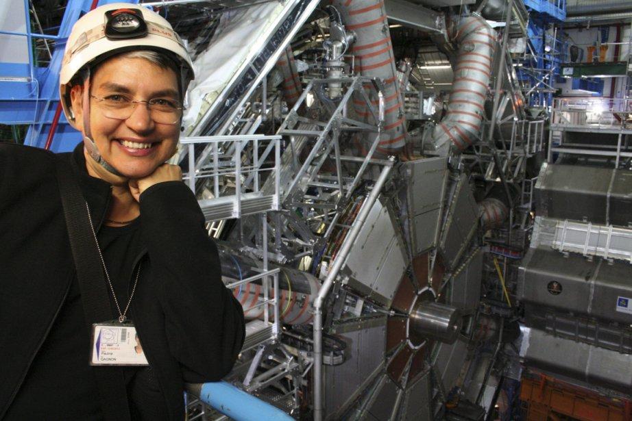 Pauline Gagnon travaille depuis 17 ans au CERN...