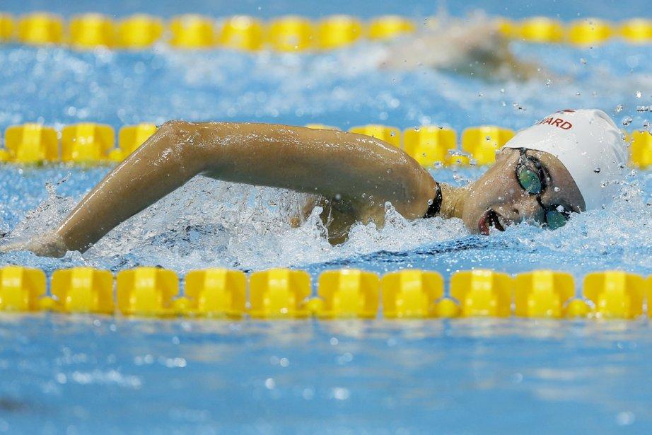 La nageuse montréalaise Aurélie Rivard a remporté la... (Photo: AP)