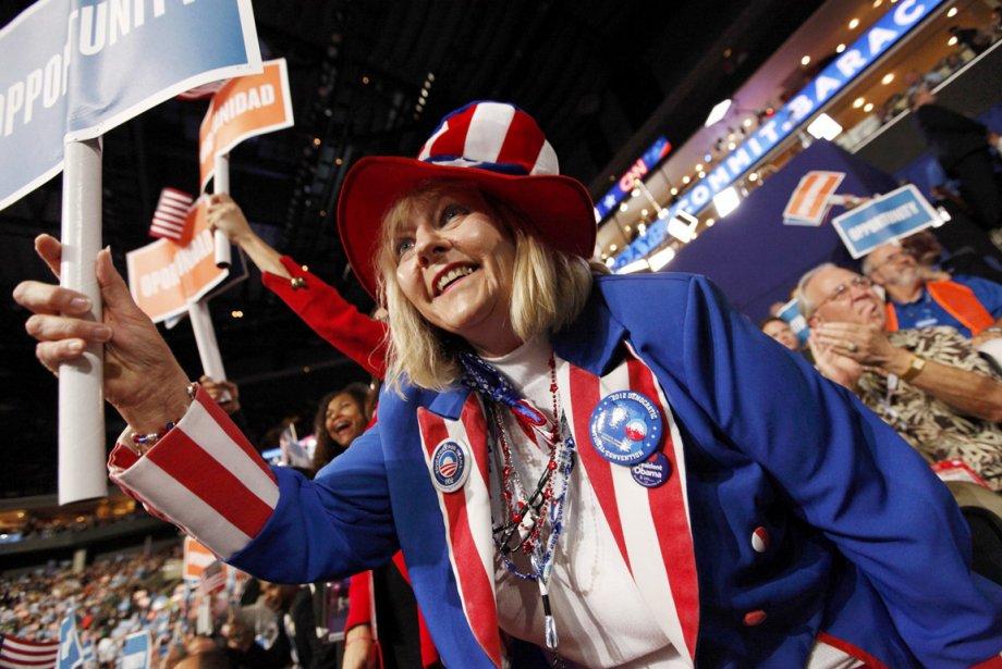 Pam Martin, une déléguée floridienne haute en couleurs. | 5 septembre 2012