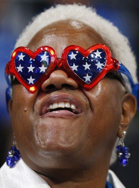 Une déléguée de l'Ohio, Deloris Rome Hudson. | 5 septembre 2012