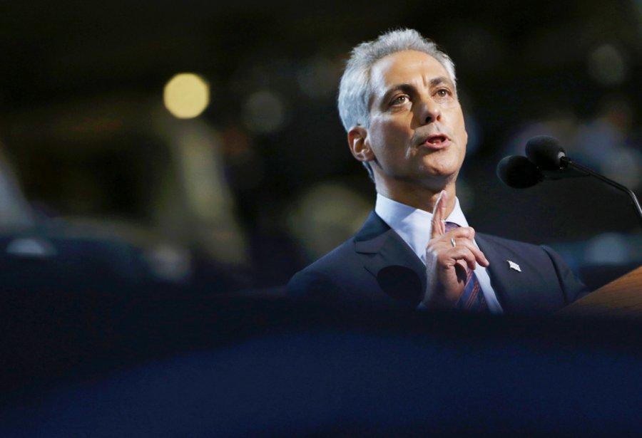 Le maire de Chicago et ex-homme fort de l'administration Obama, Rahm Emanuel. | 5 septembre 2012
