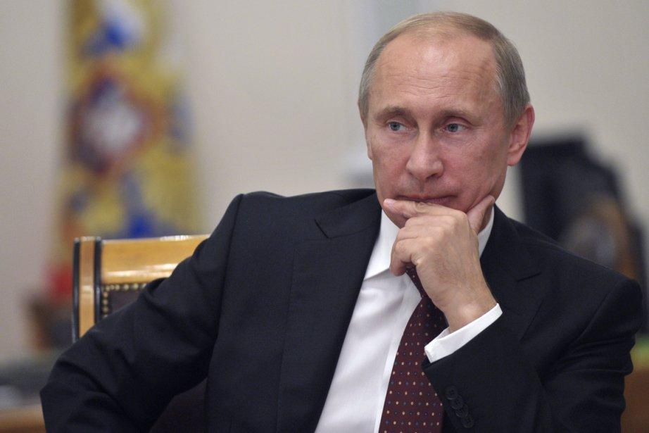 Leprésident russe Vladimir Poutine a bloqué à trois... (Photo: Reuters)