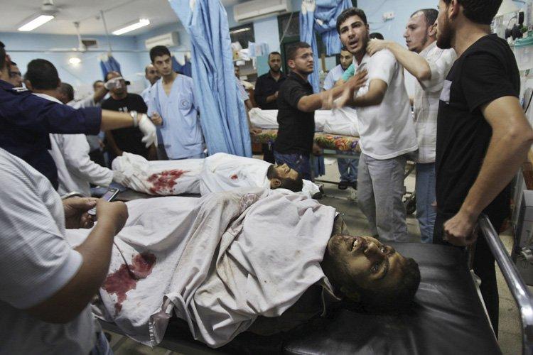 Trois Palestiniens ont été tués et un autre gravement blessé... (Photo: Reuters)