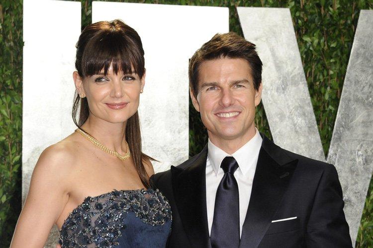 Katie Holmes a demandé le divorce d'avec Tom... (Photo: AP)