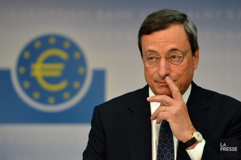 Le président de la BCE, Mario Draghi.... (Photo AFP)