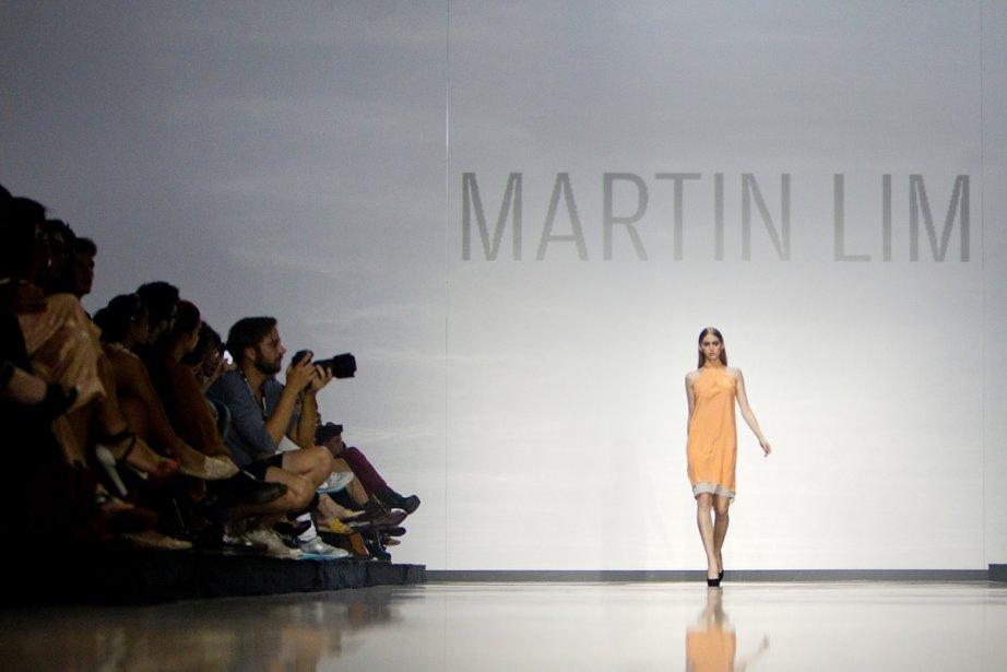 Défilé de Martin Lim dans le cadre de... (Photo: Marco Campanozzi, La Presse)