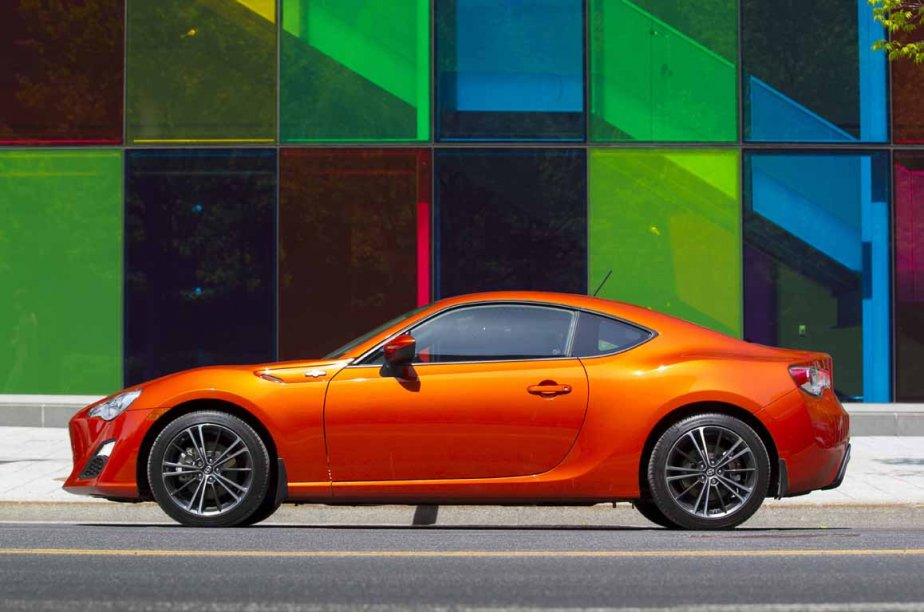 La Scion FR-S. (Photo fournie par Scion)