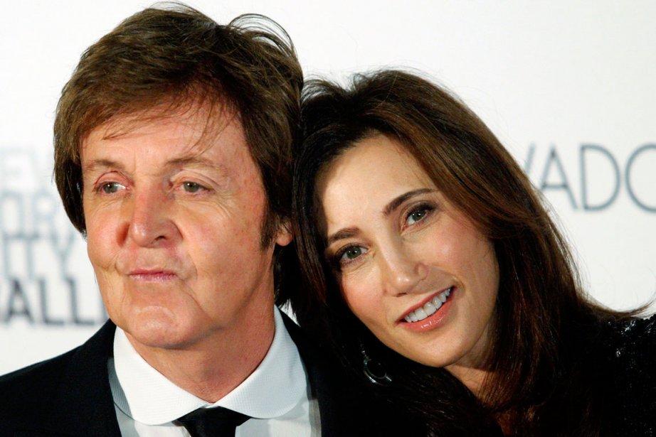 Paul McCartney et Nancy Shevell... (PHOTO KENA BETANCUR, ARCHIVES REUTERS)