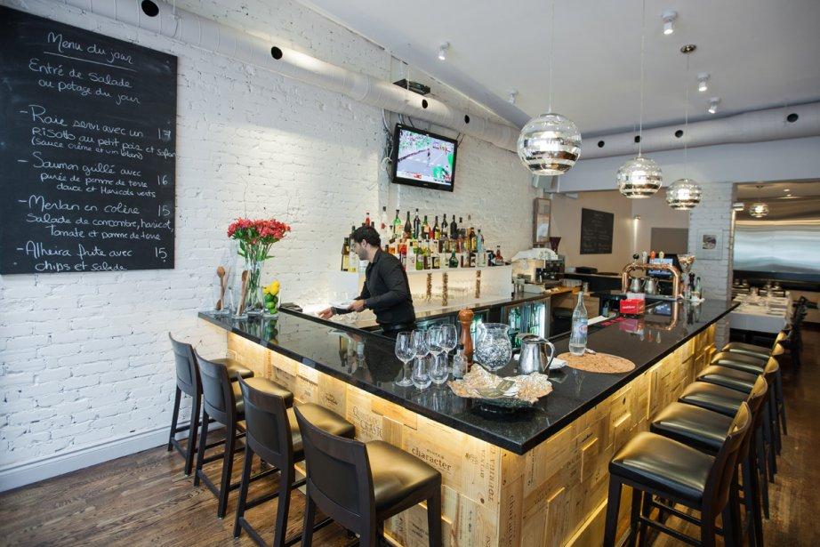 Situé sur la rue Rachel, le restaurant Boca... (Photo: Édouard Plante-Fréchette, La Presse)