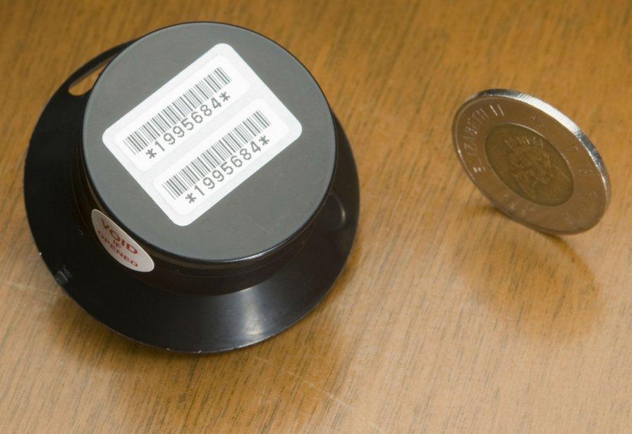 Un dosimètre, instrument de mesure du gaz radon... (PHOTO DAVID BOILY ARCHIVES LA PRESSE)