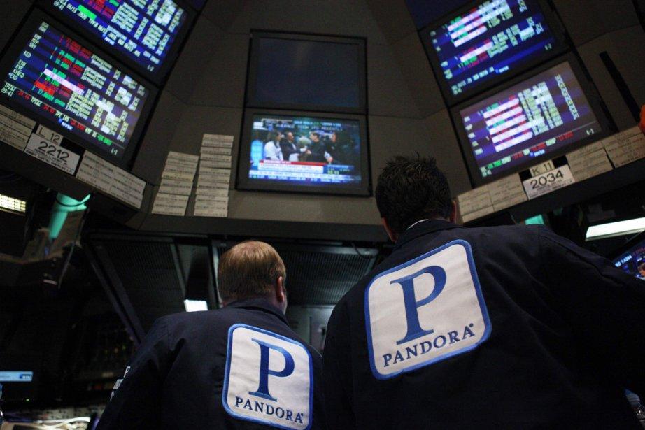 Pandora, qui fait partie des nombreuses valeurs internet... (Photo: Reuters)