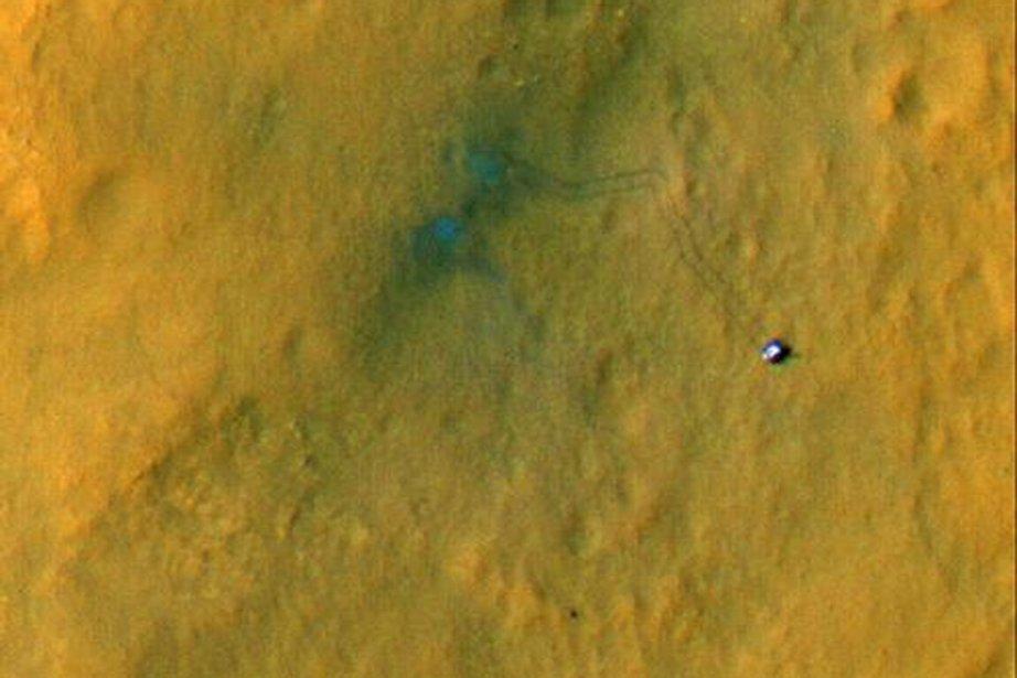Une sonde en orbite autour de Mars a... (PHOTO TIRÉE DU SITE DE LA NASA)