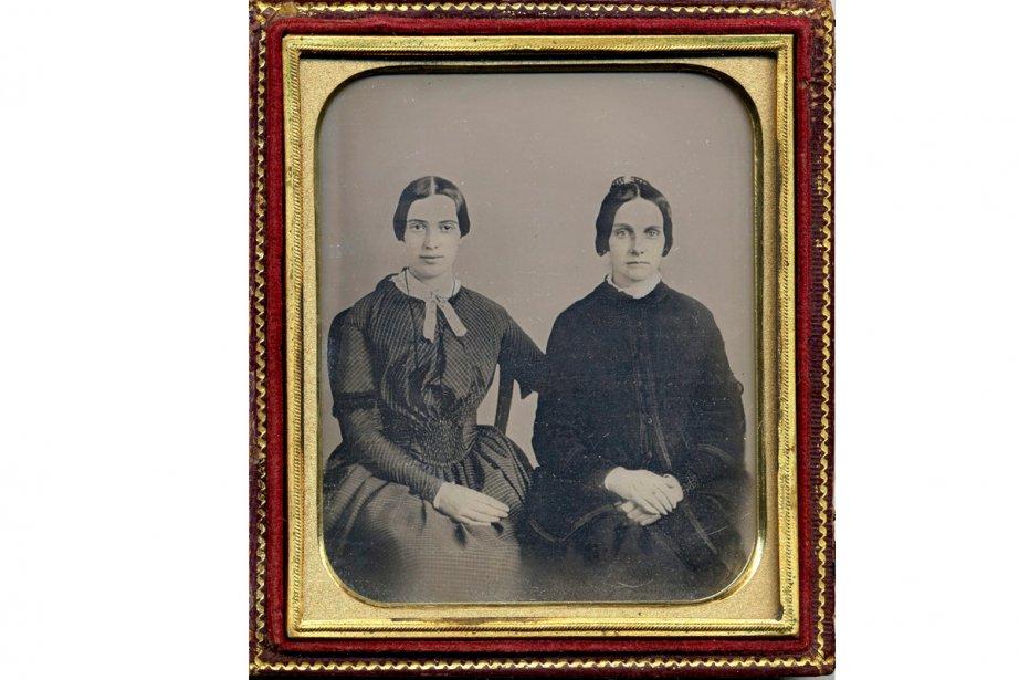 Pris aux alentours de 1859, le daguerréotype semble... (PHOTO FOURNIE PAR LE AMHERST COLLEGE DU MASSACHUSETTS)