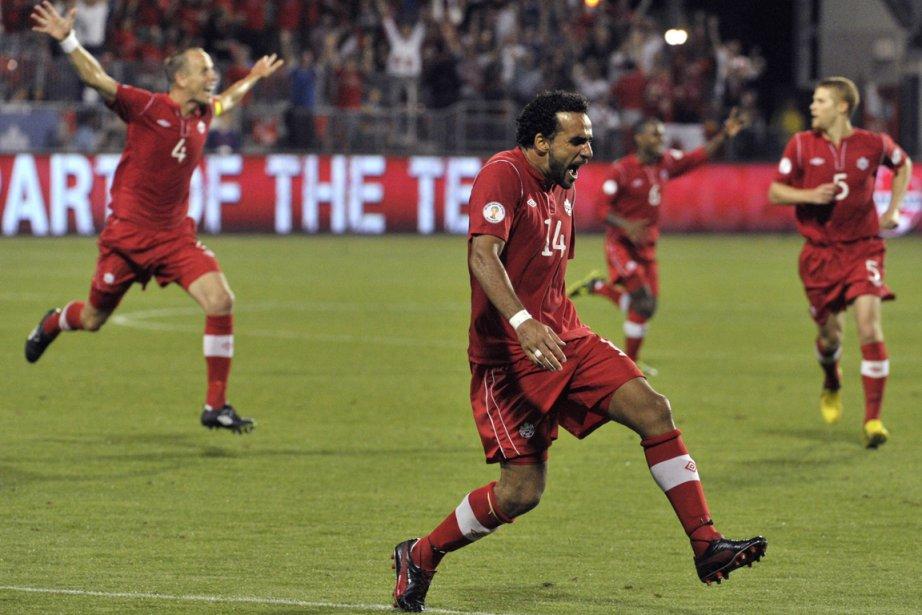 Dwayne De Rosario a inscrit son 20e but... (PHOTO MIKE CASSESE, REUTERS)