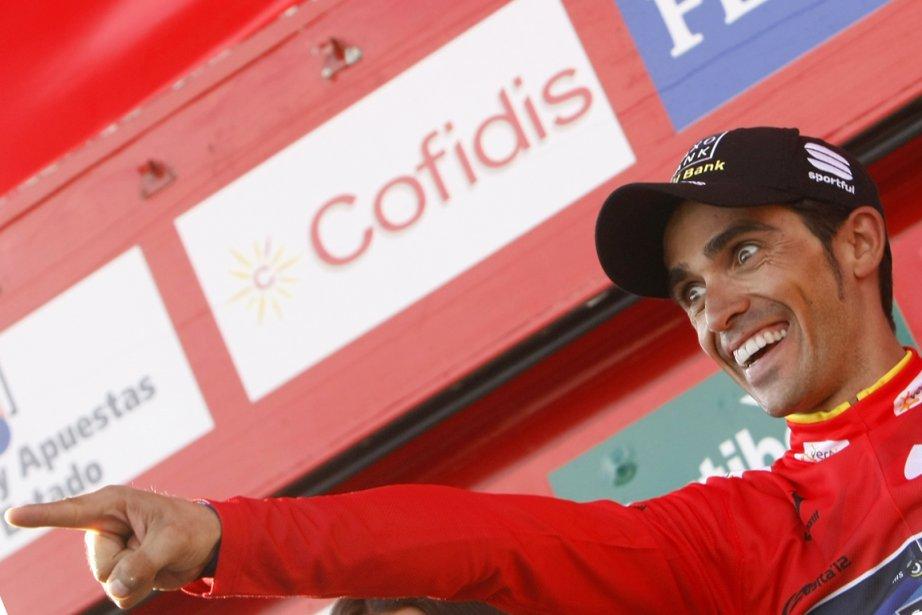 Alberto Contador est sur le point d'ajouter à... (Photo : Joseba Etxaburu, Reuters)