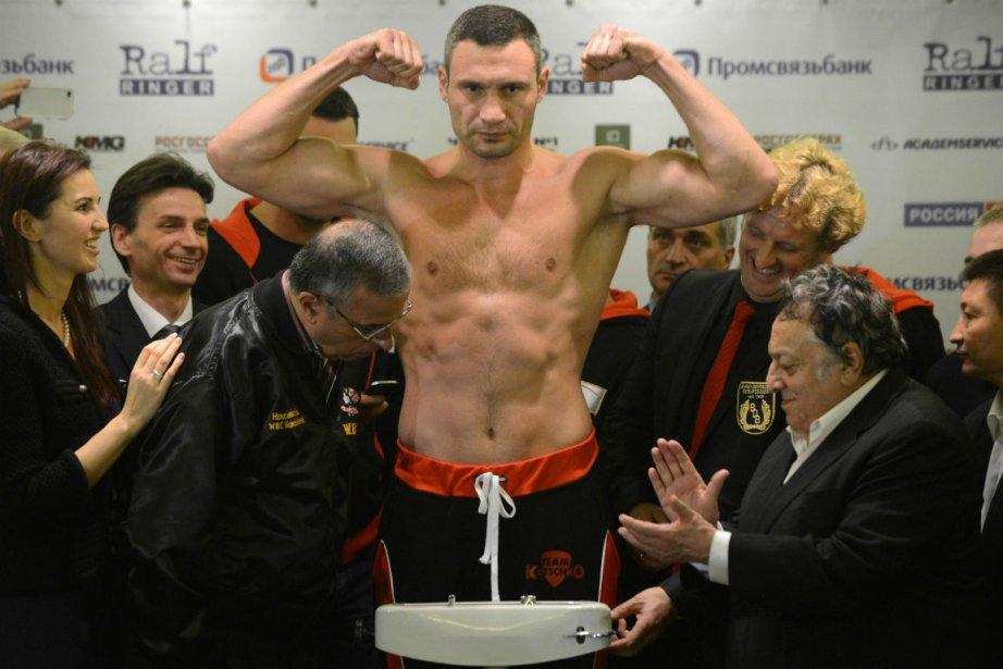 Vitali Klistchko... (Photo Kirill Kudryavtsev, Agence France-Presse)