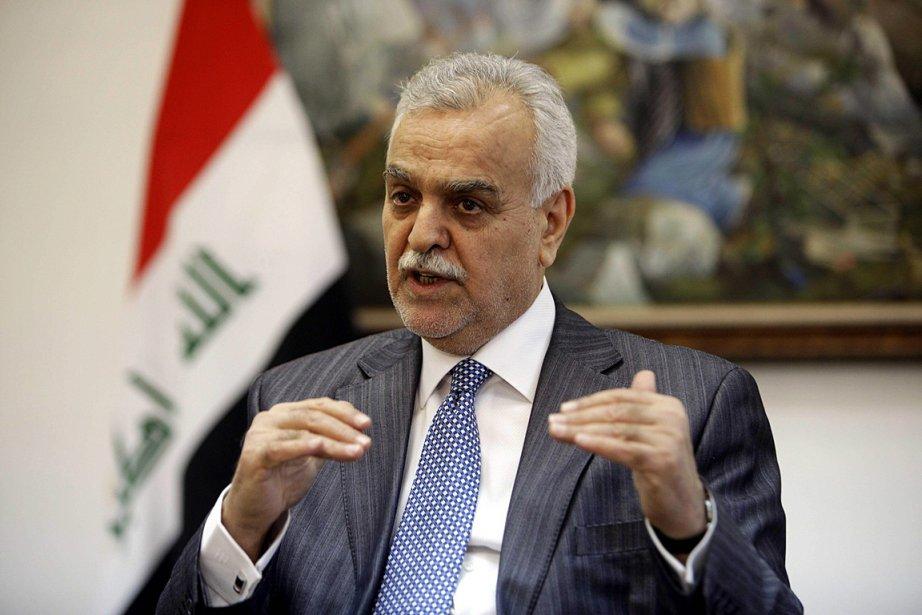 Le  vice-président sunnite Tarek al-Hachémi vient d'être... (Photo: AP)