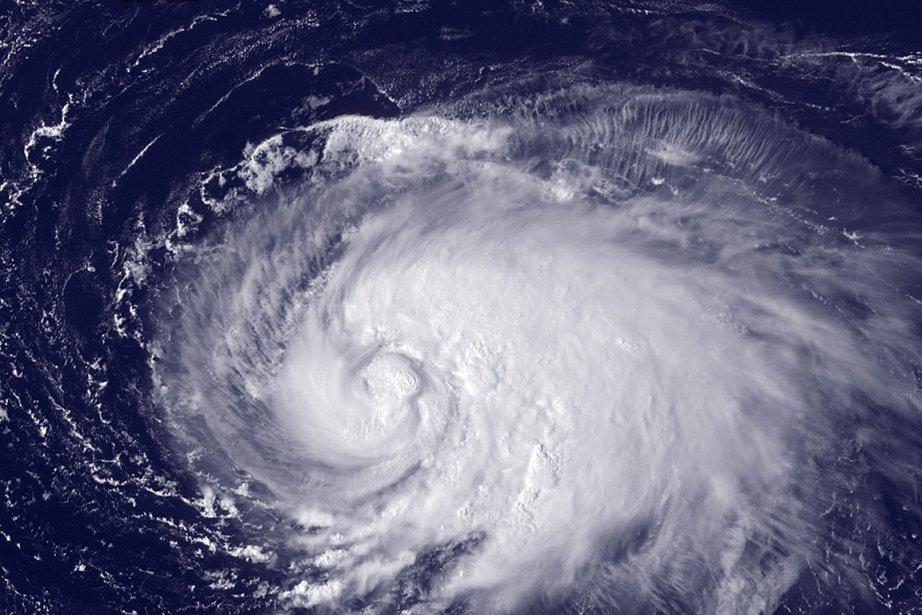 Des images de la tempête Leslie, le 5... (Photo: NASA)