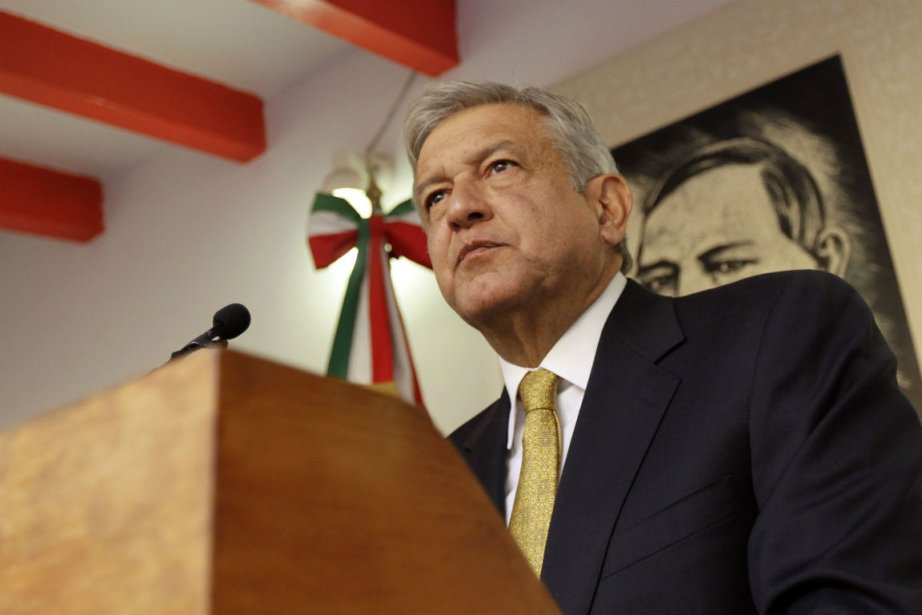 Andres Manuel Lopez Obrador... (Photo Henry Romero, Reuters)
