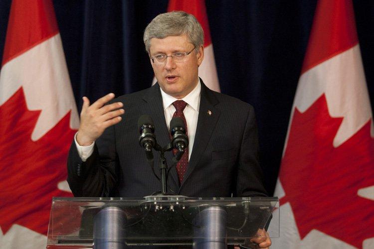 Le premier ministre Stephen Harper... (Photo: PC)
