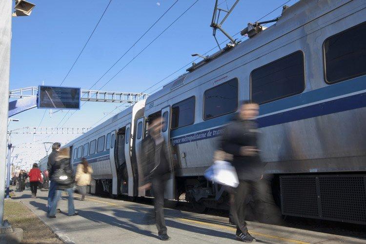 L'électrification de l'ensemble du réseau de trains de... (Photo: Hugo-Sébastien Aubert, La Presse)