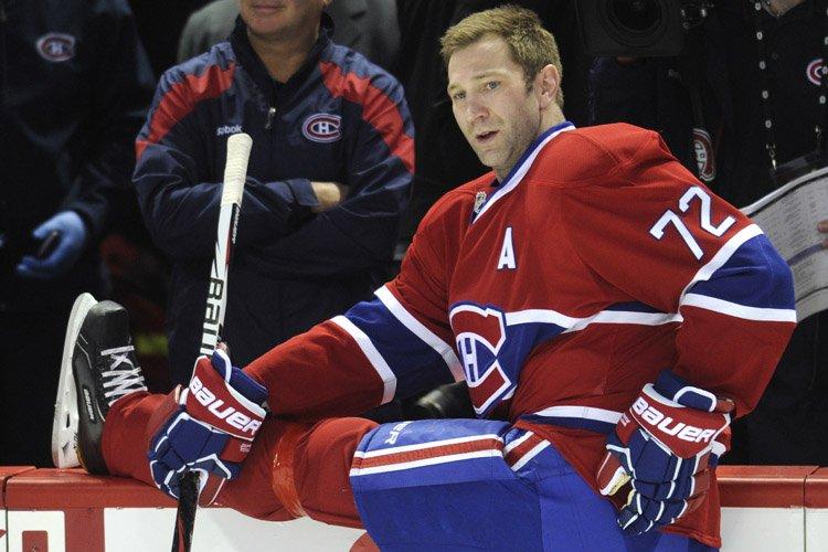 Par voie de communiqué, l'attaquant du Canadien Erik... (Photo: Bernard Brault, La Presse)